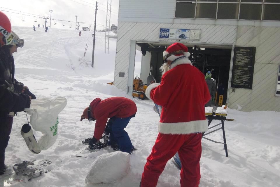 サンタクロース出陣!!